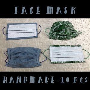 HANDMADE 💥 10 PCS - COLORED FACE MASK 💥